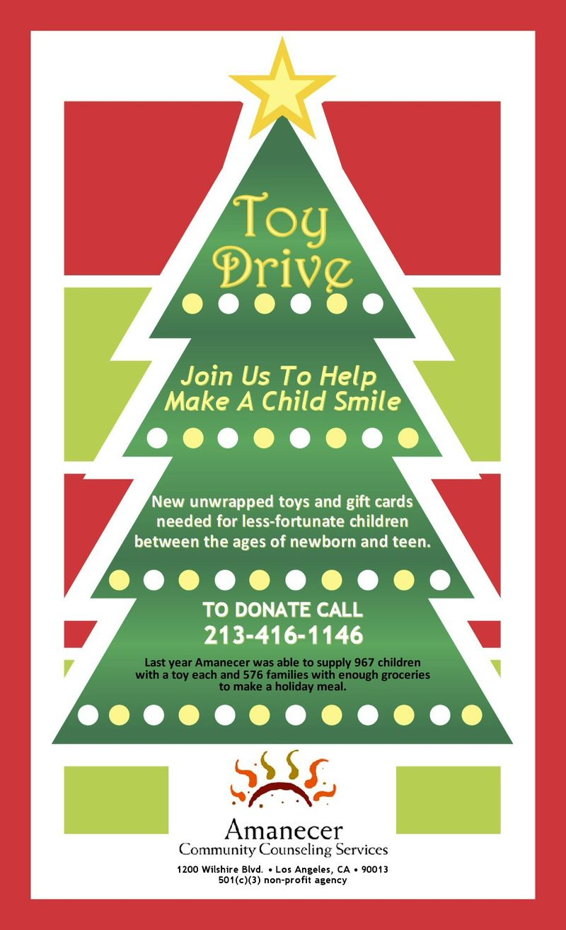 Toy drive flyer 2010 FL