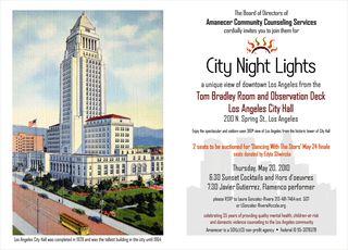 City Night at City Hall Invite